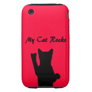 Rockin' Cat I phone 3G/3GS Case Mate Tough