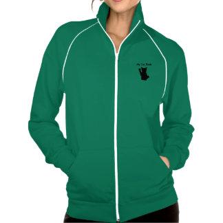 Rockin Cat Women s AA CA Fleece Track Jacket