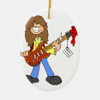 Rockin Christmas Dude Christmas Ornament