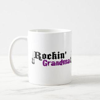 Rockin Grandma Basic White Mug