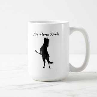 Rockin Horse Classic White Mug