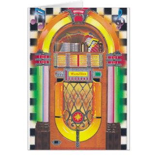 Rockin' Jukebox Greeting Card