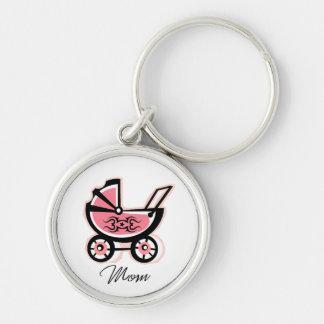Rockin Mom Keychain