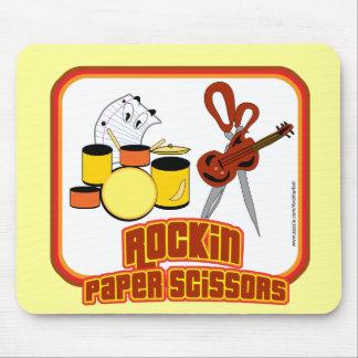 Rockin Paper Scissors Mouse Mat