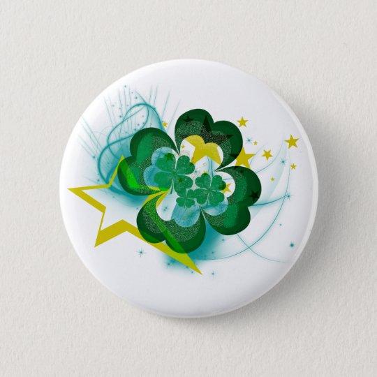 Rockin' Shamrocks Button