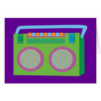 Rockin' Stereo Card