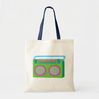 Rockin Stereo Tote Bags