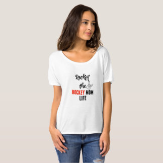 Rockin' the Hockey Mom Life Slouchy T-Shirt