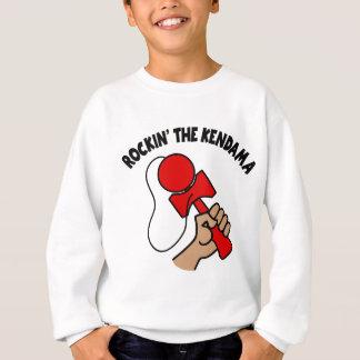 Rockin the Kendama, red Sweatshirt