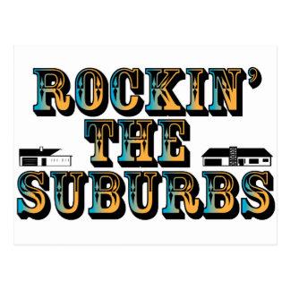 Rockin the Suburbs Postcard