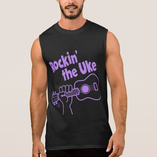 ROCKIN' THE UKE SLEEVELESS SHIRT