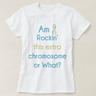 Rockin' This Extra Chromosome Ribbon T-Shirt