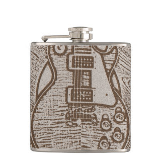 Rockin' with Class Electric Guitar Flask