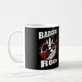 rocking badger mug