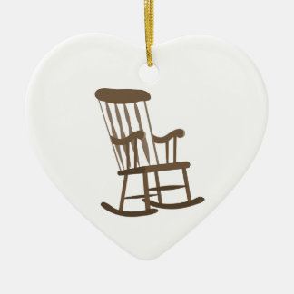 Rocking Chair Christmas Ornament