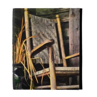 Rocking Chair on Porch iPad Folio Cases