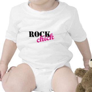 Rocking Chick Baby Bodysuits