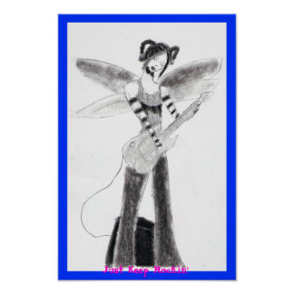 Rocking Fairy Poster