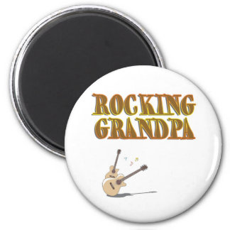 ROCKING GRANDPA MAGNET