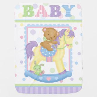 Rocking Horse Baby Blanket