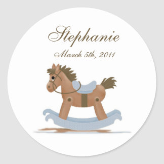 Rocking Horse Baby Sticker