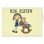 Rocking Horse Big Sister T-shirts and Gifts Card