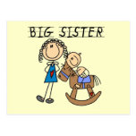 Rocking Horse Big Sister T-shirts and Gifts Post Card