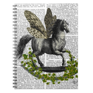 Rocking Horse Fly 2 Spiral Notebook