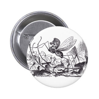 Rocking Horse Fly 6 Cm Round Badge