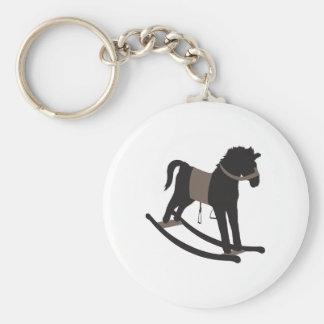 Rocking Horse Key Chain