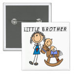 Rocking  Horse Little Brother Tshirts Buttons