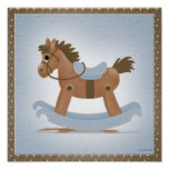 Rocking Horse Poster