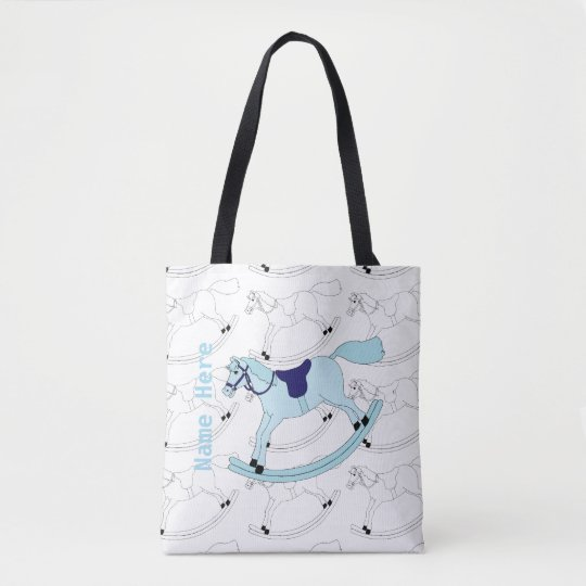 Rocking Horse Tote Bag For Kids