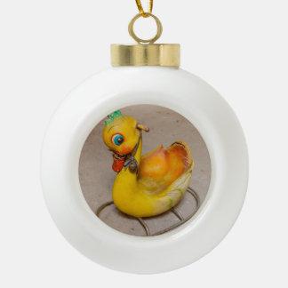 rocking on ceramic ball ornament