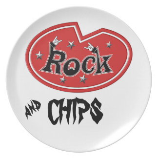 Rocking Out Rock Plate