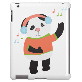 Rocking Panda Bear iPad Case