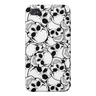 Rocking Skull iPhone 4/4S Cover