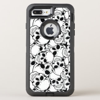 Rocking Skull OtterBox Defender iPhone 7 Plus Case