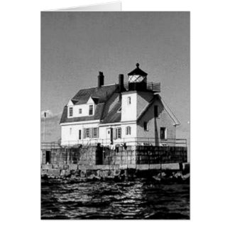 Rockland Harbor Breakwater Lighthouse Greeting Cards