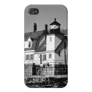 Rockland Harbor Breakwater Lighthouse Covers For iPhone 4