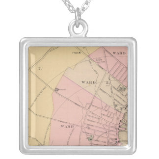 Rockland, Maine Silver Plated Necklace