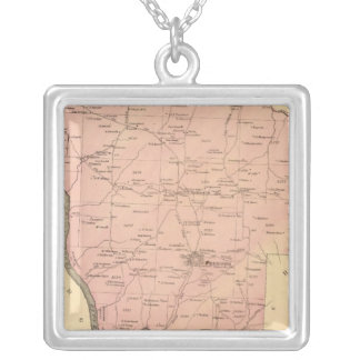 Rockland Township Silver Plated Necklace
