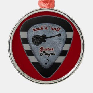 rock'n' roll forever christmas ornament
