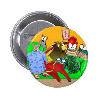Rocko's Real Life 6 Cm Round Badge