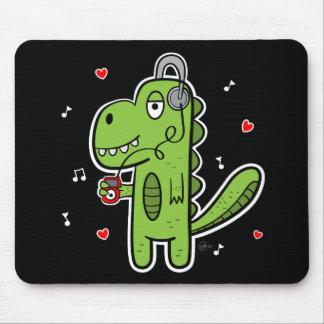 Rockosaur Dinosaur Mousepad - Dark