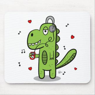 Rockosaur Dinosaur Mousepad