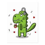 Rockosaur Dinosaur Postcard