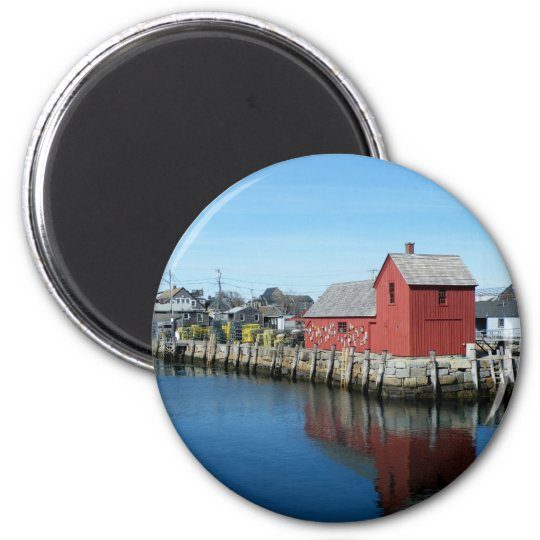 Rockport 6 Cm Round Magnet