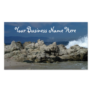Rocks and Splashes Pack Of Standard Business Cards