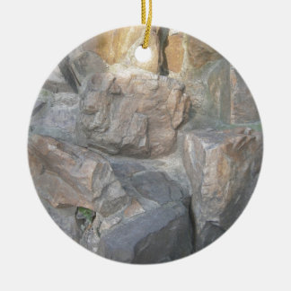 Rocks at a Garden in China Christmas Ornament